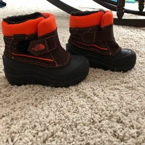 North Face Powder Hound Toddler Snow boots 8